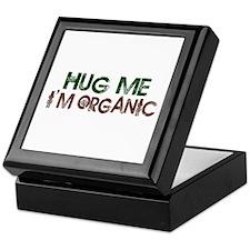 Hug Me I'm Organic Keepsake Box