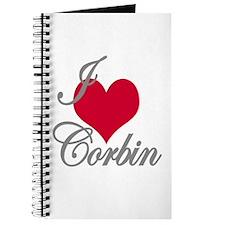 I love (heart) Corbin Journal
