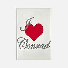 I love (heart) Conrad Rectangle Magnet