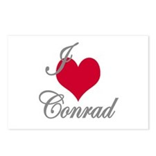 I love (heart) Conrad Postcards (Package of 8)