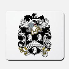 Hull Family Crest Mousepad