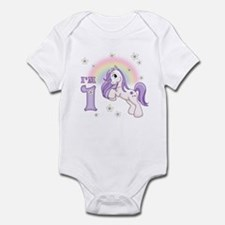 Pretty Pony First Birthday Infant Bodysuit