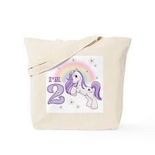 Pretty Pony 2nd Birthday Tote Bag