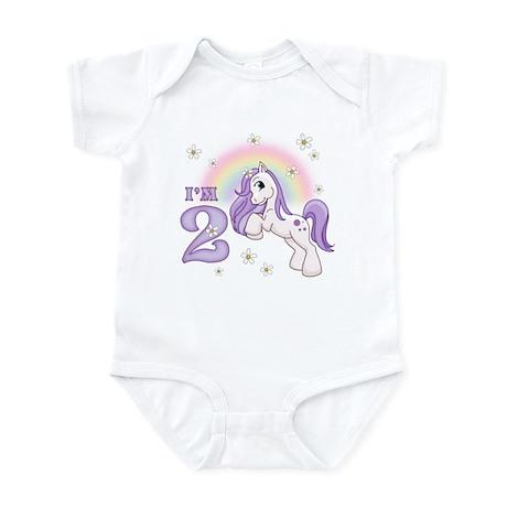 Pretty Pony 2nd Birthday Infant Bodysuit