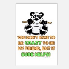 Crazy Friends Postcards (Package of 8)