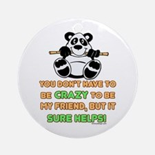Crazy Friends Ornament (Round)
