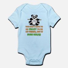 Crazy Friends Infant Bodysuit