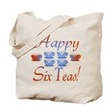 60th birthday Canvas Tote Bag