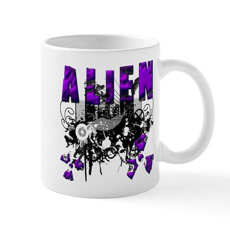 Alien Vector Design 37 Mug