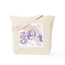 Pretty Pony 3rd Birthday Tote Bag