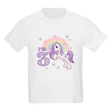 Pretty Pony 3rd Birthday T-Shirt