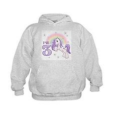 Pretty Pony 3rd Birthday Hoodie