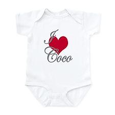 I love (heart) Coco Infant Bodysuit