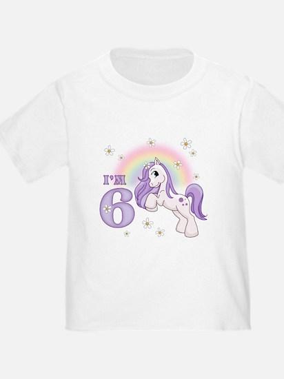 Pretty Pony 6th Birthday T