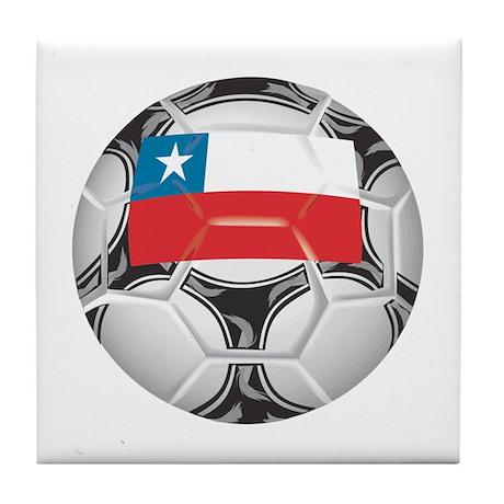 Chile Championship Soccer Tile Coaster