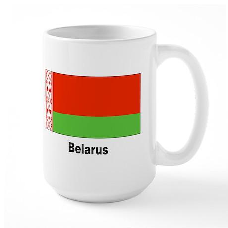 Belarus Flag Large Mug
