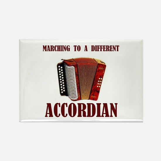 ACCORDIAN Rectangle Magnet