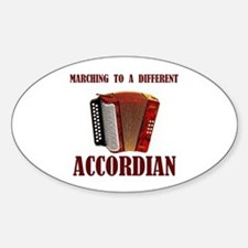 ACCORDIAN Oval Decal
