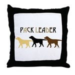 Labrador Pack Leader BYC Throw Pillow