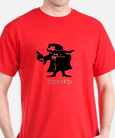 Bomb Dude Clear Spaces T-Shirt