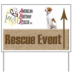 ABR Events Yard Sign Up Arrow