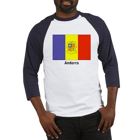 Andorra Andorran Flag Baseball Jersey