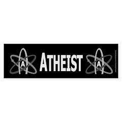 ATHEIST SYMBOL Bumper Bumper Sticker