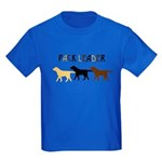 Labrador Pack Leader BYC Kids Dark T-Shirt