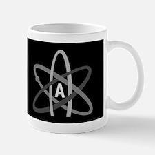 ATHEIST SYMBOL Dark Mug