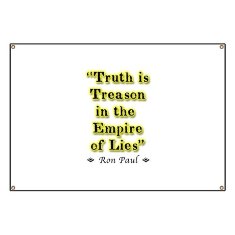 Truth Is Treason Banner