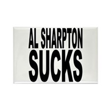 Al Sharpton Sucks Rectangle Magnet