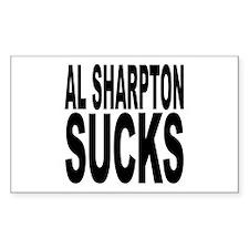 Al Sharpton Sucks Rectangle Decal