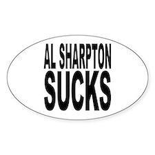 Al Sharpton Sucks Oval Sticker (10 pk)