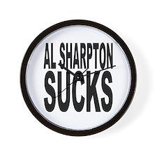 Al Sharpton Sucks Wall Clock