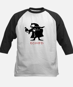 Bomb Dude Red Kids Baseball Jersey