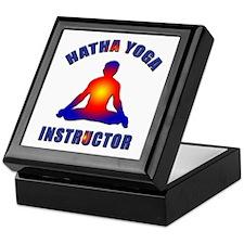 Hatha Yoga Instructor Keepsake Box