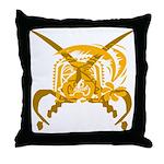 Tropical Pirates Throw Pillow