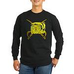 Tropical Pirates Long Sleeve Dark T-Shirt