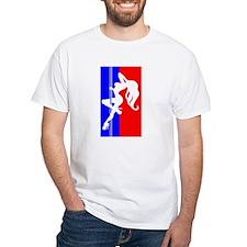 Red White & Blue Pole Dancer Shirt