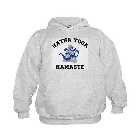 Hatha Yoga Kids Hoodie