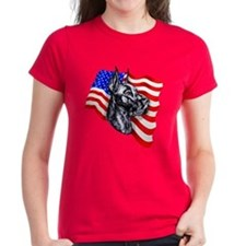 Patriot Dane Black Tee