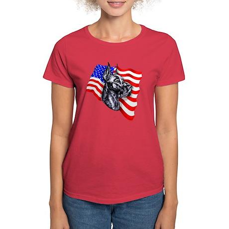 Patriot Dane Black Women's Dark T-Shirt