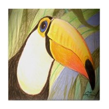 Toucan Tile Coaster