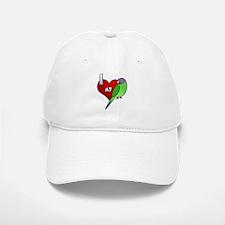I Love My Plumheaded Parakeet Hen Hat