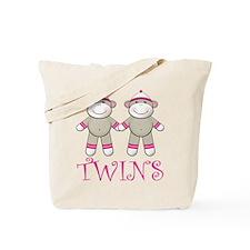 Sweet Twin Girls Tote Bag