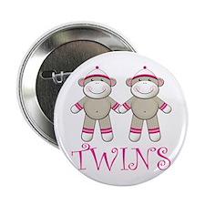 "Sweet Twin Girls 2.25"" Button"