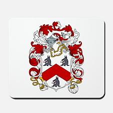 Jacob Family Crest Mousepad