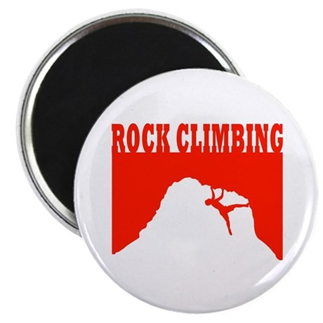 "Rock Climbing 2.25"" Magnet (100 pack)"