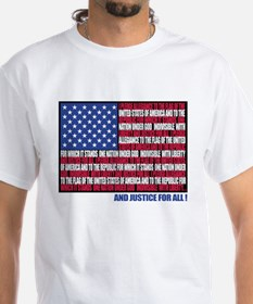 PLEDGE OF ALLEGIANCE FLAG Shirt