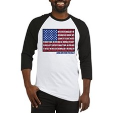 PLEDGE OF ALLEGIANCE FLAG Baseball Jersey